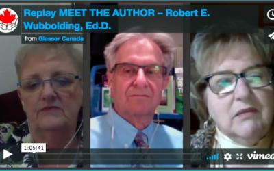 Replay MEET THE AUTHOR – Robert E. Wubbolding, Ed.D.