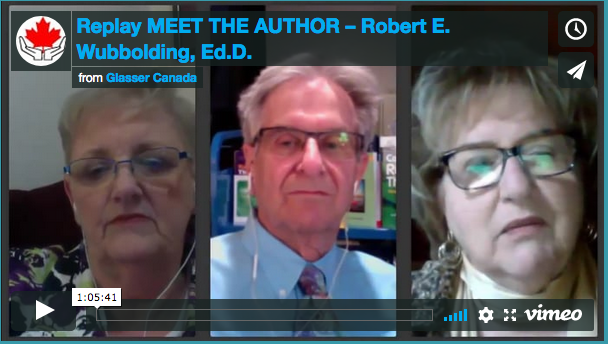 Replay MEET THE AUTHOR – Robert E. Wubbolding, Ed.D.